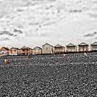 Beach Huts - Normans Bay by Paul Morris