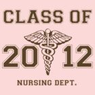 Class of 2012 Nursing Dept. (monochromatic) by Kevin  Whitaker