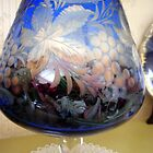 Blue Carved Glass by sstarlightss