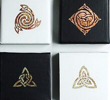 Celtic miniatures III by Marta Lett