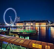 London Eye by fineartphoto1