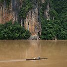  Ou River, Luang Prabang Province, Laos by John Spies