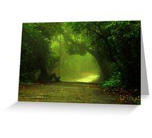 Monsoon Moods Greeting Card