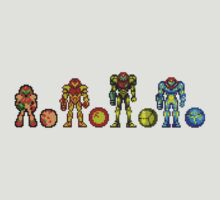 Samus, the cartridge years by 1up Apparel