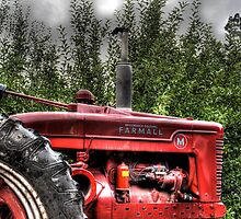 Indiana Tractor by Matt Erickson