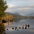 Grasmere to Helm Crag At First Light by SteveMG