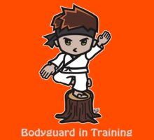 Martial Arts/Karate Boy - Crane one-legged stance - Bodyguard Kids Clothes