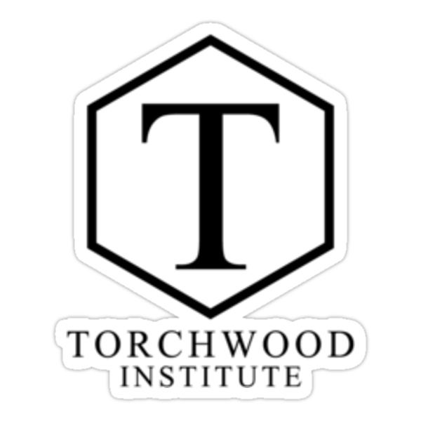 Torchwood Black Classic Logo and Name by Christopher Bunye