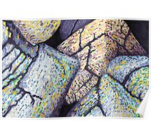 Colorful Boulders * Poster