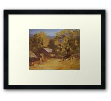 Crippen Ranch Framed Print