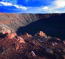 Arizona meteor crater by zumi