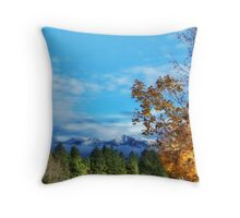 The End of Indian Summer Throw Pillow
