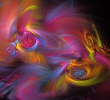 Artisan Abstract Fractal by Archetypus
