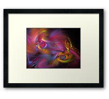 Artisan Abstract Fractal Framed Print
