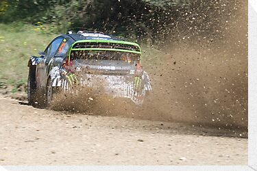 Ken Block, WRC Rally, Coffs Harbour, NSW, Australia 2011 by Adrian Paul