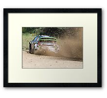 Ken Block, WRC Rally, Coffs Harbour, NSW, Australia 2011 Framed Print