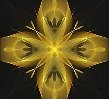 Calla Abstract Fractal Design by Archetypus