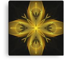 Calla Abstract Fractal Design Canvas Print