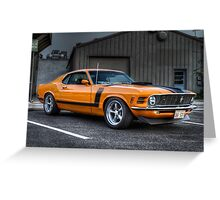 A True American Muscle Car!!!! Greeting Card
