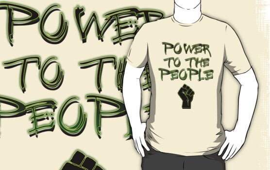 Power to the People! by 321Outright