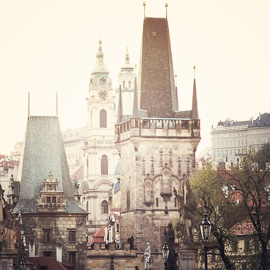 charles bridge, prague by Natasha Calhoun