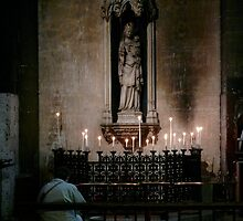 St Germain de pres(Paris) inside church by bertipictures