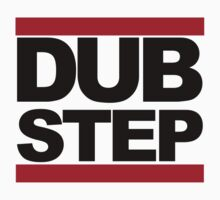 Dubstep - RUN DMC Style Black Logo by CalumCJL