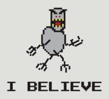 I Believe SkiFree by AngryMongo