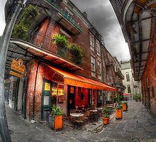 French Quarter Alley, New Orleans by Matt Erickson