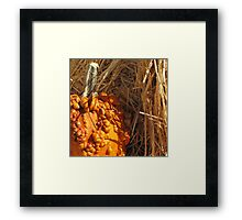 Carving Not Necessary Framed Print