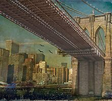Brooklyn Bridge by MarieG