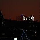 Red, White and Blue Ghirardelli by fototaker