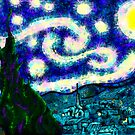 a scribbler starry night by Kestrelle