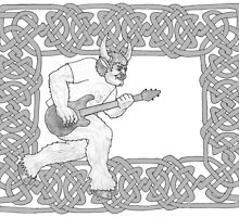 Minotaur Guitar by redqueenself