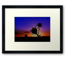 spike!!! Framed Print