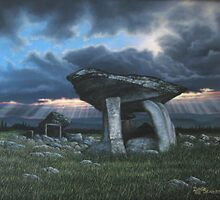 KILCLOONEY DOLMEN Co. DONEGAL  by David Seavers