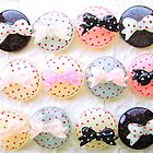 Polka Dots Bows by souzoucreations