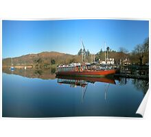 Queen Of The Lake Windermere Poster