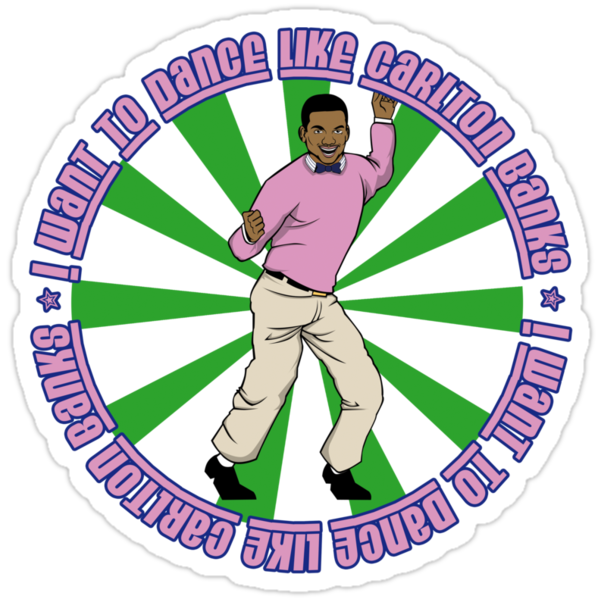 i want to dance like carlton banks by Faniseto