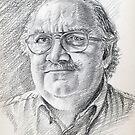 Alessandro Giraudo portrait by Francesca Romana Brogani