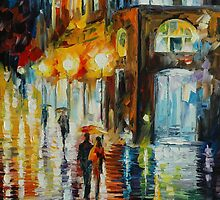 WEST PALM BEACH CITY PLACE - LEONID AFREMOV by Leonid  Afremov