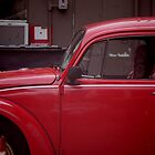 Old Red Beetle by Tsebiyah Mishael Derry