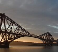 Panoramic Forth Bridges by weecritter