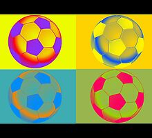 Pop Art Soccer by fantasytripp