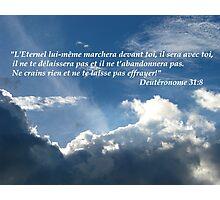 Deut. 31:8 fr Photographic Print