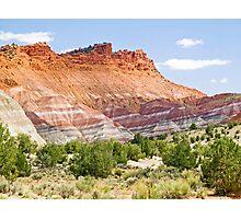Colorful Cliffs Photographic Print