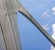 Up the Gateway Arch by Kenneth Keifer