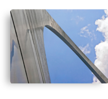 Up the Gateway Arch Canvas Print