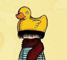 Rubber Ducky Hat by FireRabbit