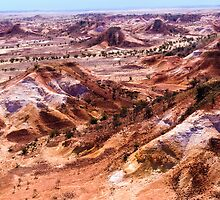 Anna Creek Painted Hills, Outback South Australia 638 by haymelter